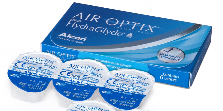 Lentilă de contact lunară din silicon hidrogel – AIR OPTIX Plus HydraGlyde
